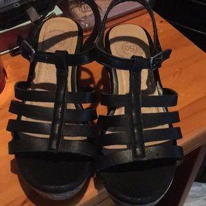 SO Girls Wedge Sandals